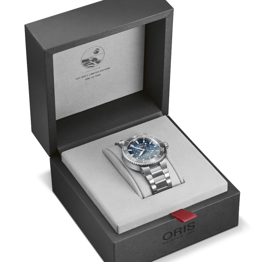 Oris Aquis Dat Watt Limited Edition Full Box For Sale