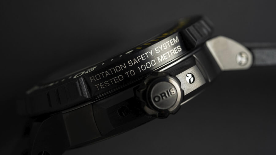 Oris Rotation Safety System, known as RSS