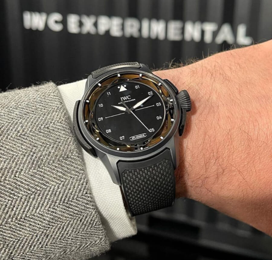 IWC Big Pilot's Watch Shock Absorber XPL Watch Review