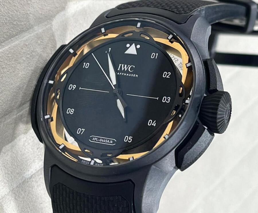 Review IWC Big Pilot's Watch Shock Absorber XPL Watch