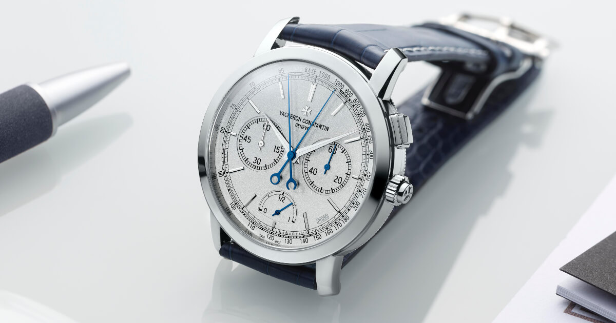 Vacheron Constantin Traditionnelle Split-Seconds Chronograph Ultra-Thin Collection Excellence Platine Watch