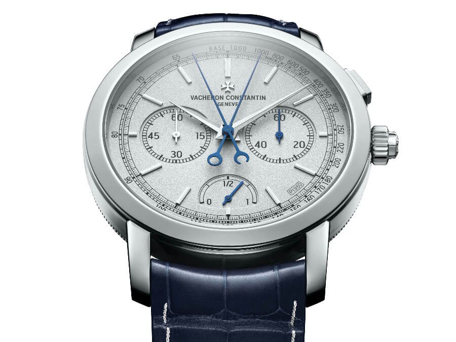 The New Vacheron Constantin Traditionnelle Split-Seconds Chronograph Ultra-Thin Collection Excellence Platine Ref. 5400T/000P-B637