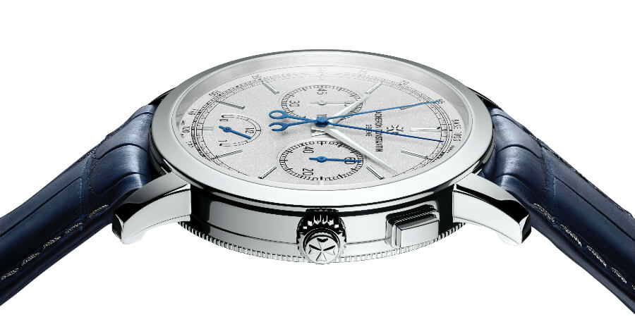 Review Vacheron Constantin Traditionnelle Split-Seconds Chronograph Ultra-Thin Collection Excellence Platine