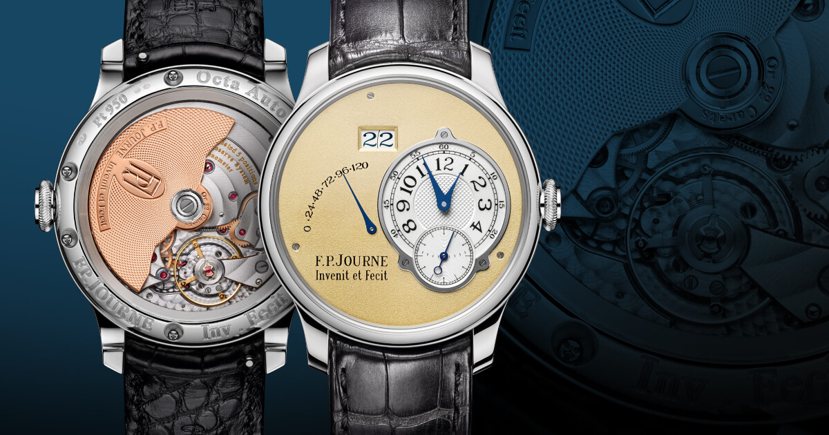 F.P. Journe Octa Automatique 20th Anniversary Limited Edition Watch (Price, Pictures and Specs)