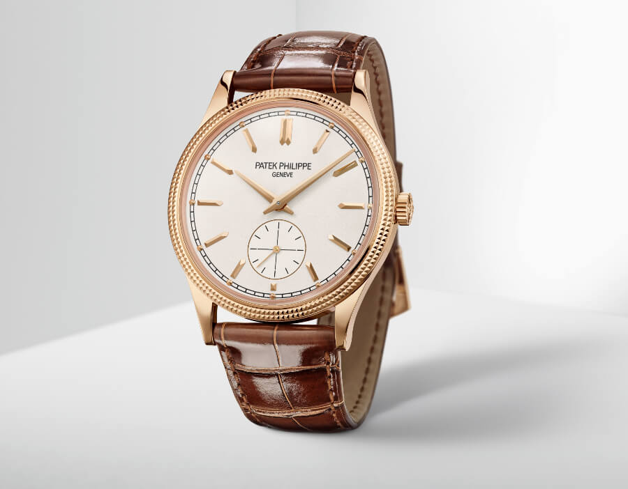 "The New Patek Philippe Calatrava ""Clous de Paris"" Ref. 6119R-001"
