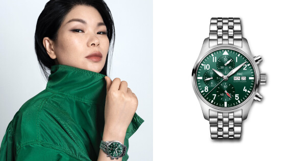 Chinese Fashion Entrepreneur Lu Yan Is Appointed IWC's Latest Brand Ambassador