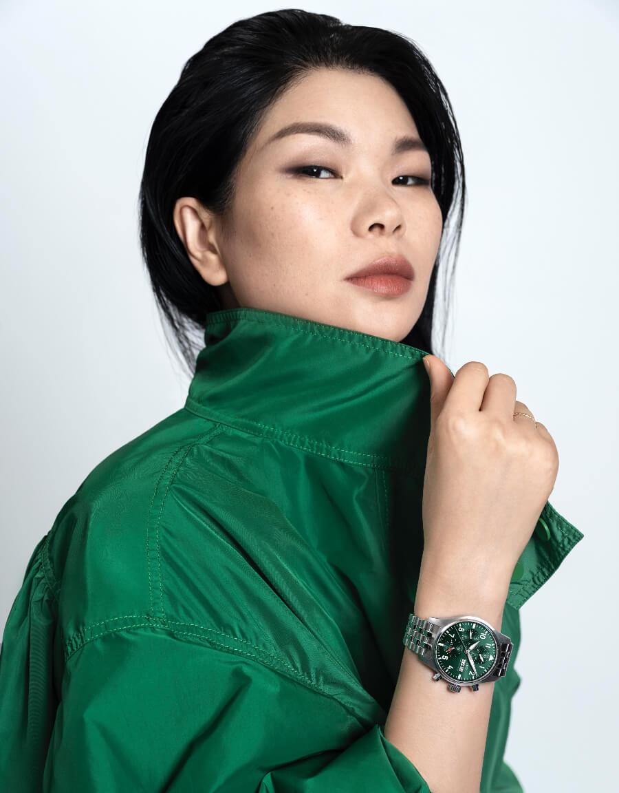 Lu Yan IWC Brand Ambassador