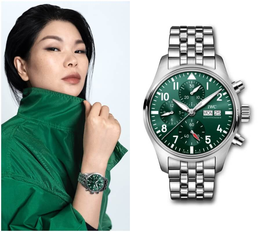 Lu Yan IWC Watch Collection
