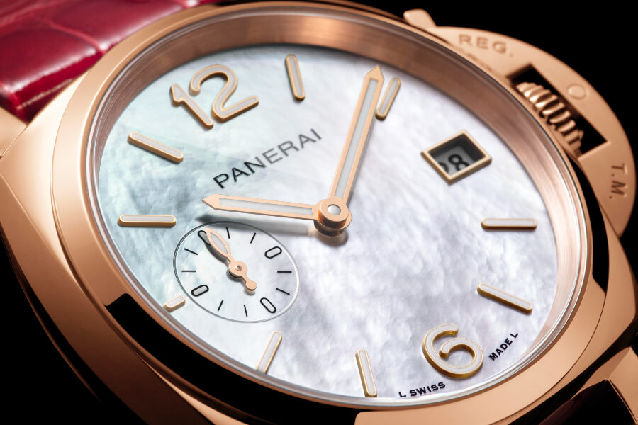 Women Watches Panerai Piccolo Due Madreperla