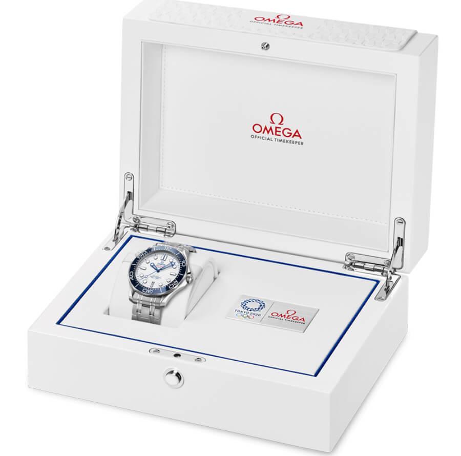 Omega Seamaster Diver 300m Tokyo 2020 Ful Box for sale