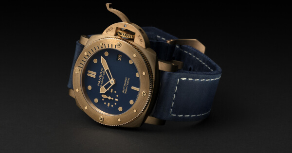 Panerai Submersible Bronzo Blu Abisso PAM01074 (Price, Pictures and Specs)