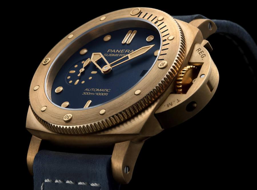 Panerai Submersible Bronzo Blu Abisso PAM01074 Watch Review
