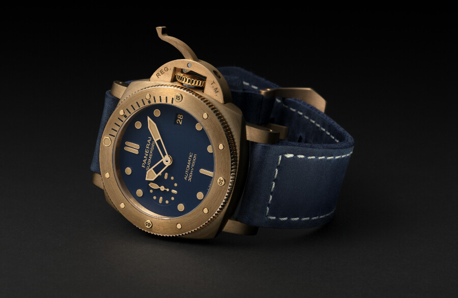 Panerai Submersible Bronzo Blu Abisso Watch Review