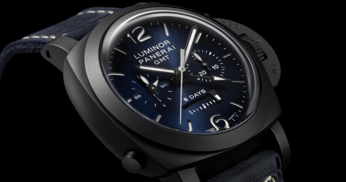 Panerai Luminor Chrono Monopulsante GMT Blu Notte Watch (Price, Pictures and Specs)
