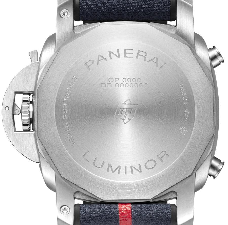 Panerai Luminor Chrono Luna Rossa PAM01303  Case Back