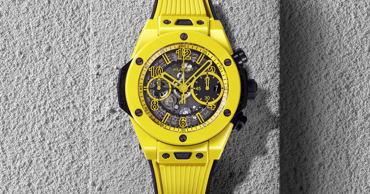 Hublot Big Bang Unico Yellow Magic Watch (Price, Pictures and Specs)