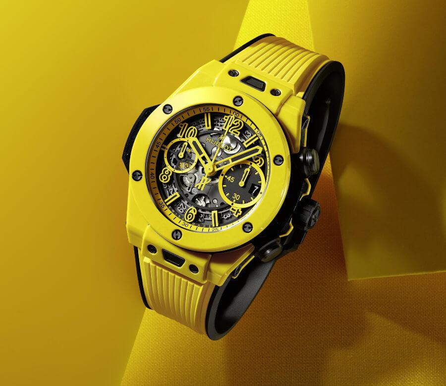 Hublot Big Bang Unico Yellow Magic Watch Review