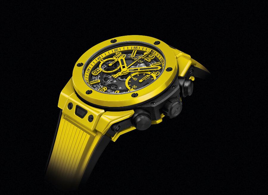 Review Hublot Big Bang Unico Yellow Magic