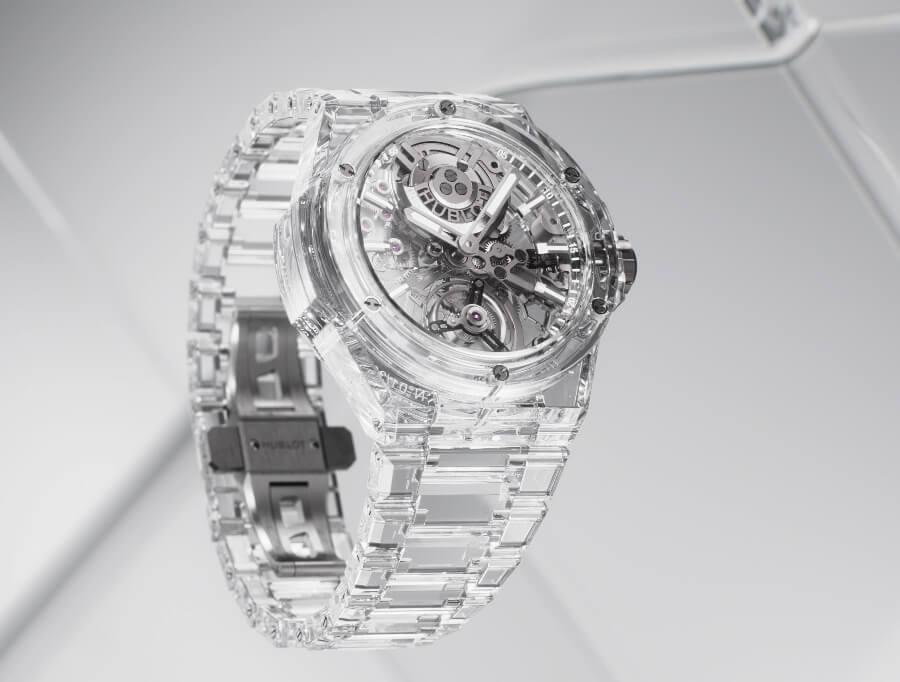 Hublot Big Bang Integral Tourbillon Full Sapphire Watch Review