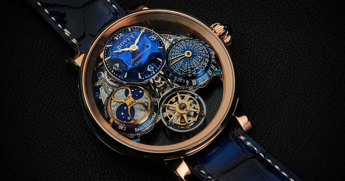 Bovet Récital 26 Brainstorm Chapter Two In 18K Red Gold (Price, Pictures and Specs)