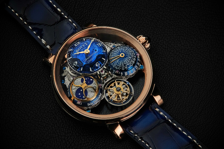 Bovet Récital 26 Brainstorm Chapter Two In 18K Red Gold Watch Review