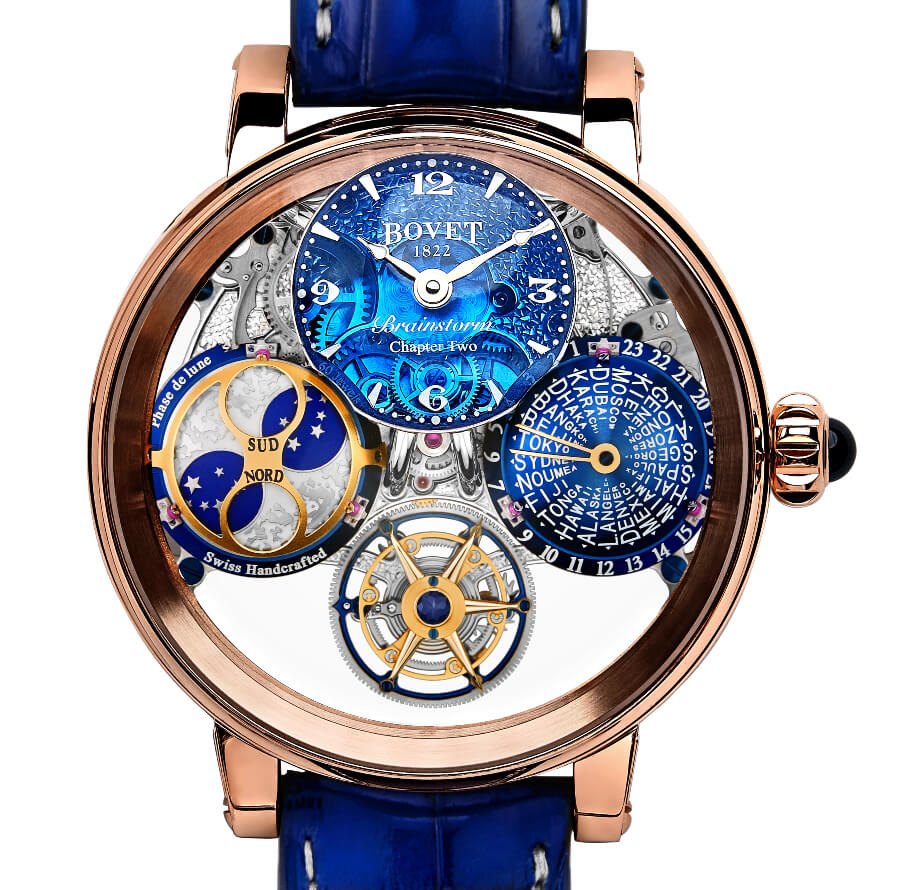 Bovet Récital 26 Brainstorm Chapter Two In 18K Red Gold Watch