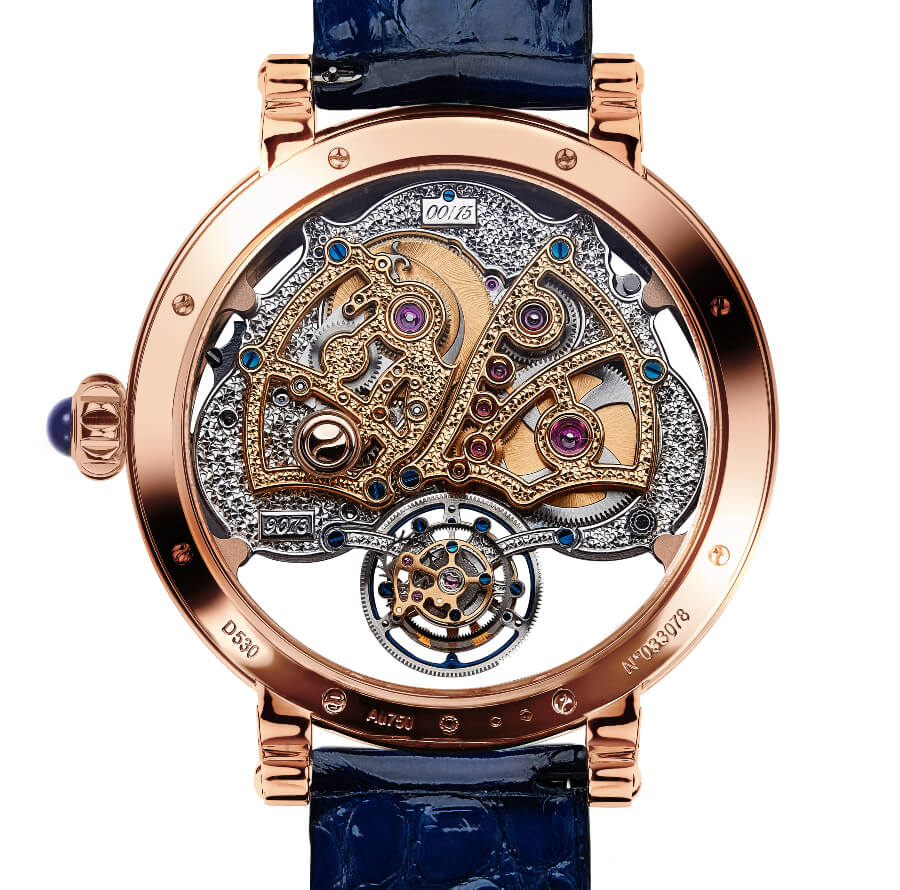 Bovet Récital 26 Brainstorm Chapter Two In 18K Red Gold In House Movement