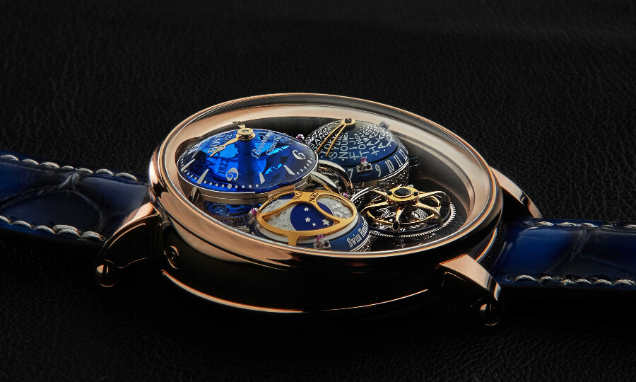 Bovet Récital 26 Brainstorm Chapter Two In 18K Red Gold Review
