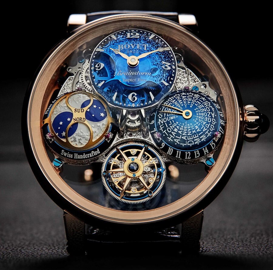 Review Bovet Récital 26 Brainstorm Chapter Two In 18K Red Gold