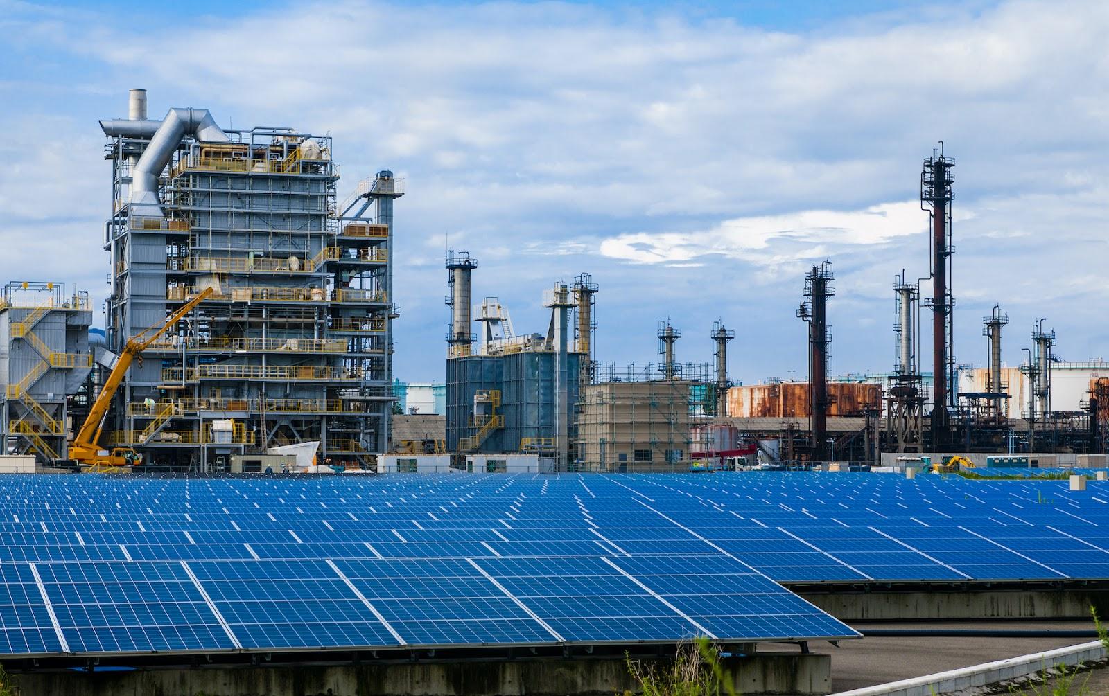 Solar Powered Industrial Buildings
