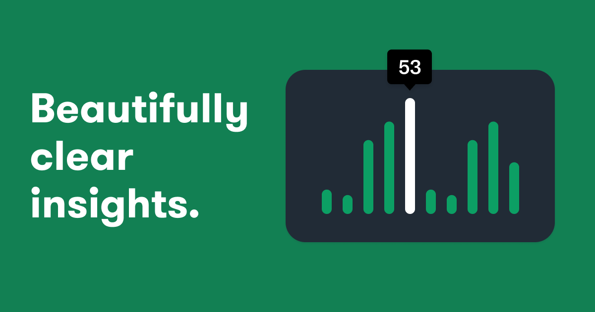 New Insights: A clear, digestible and beautiful overview of your hiring metrics.