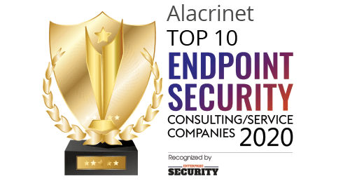 Enterprise Security magazine award for Top 10 Endpoint Security Consulting/Service Companies 2020