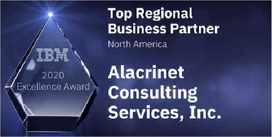 IBM 2020 Top regional Partner of the Year
