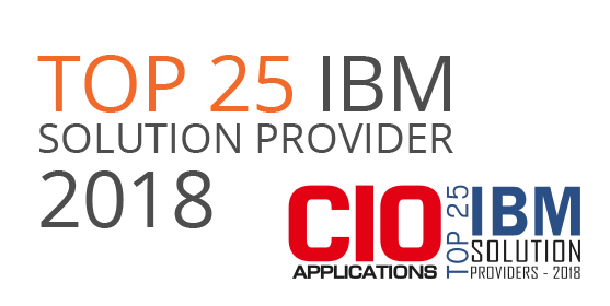CIO Applications Magazine Top 25 IBM Solution Providers of 2018
