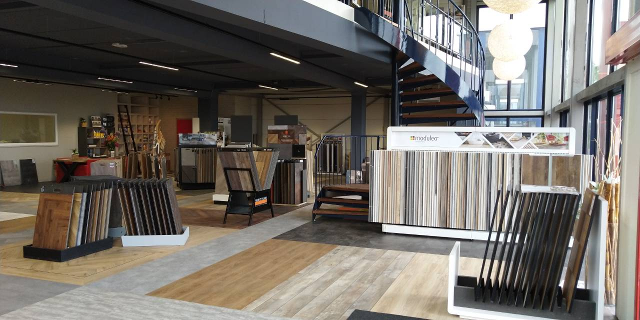 Showroom gesloten