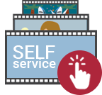 Self-service TV clips
