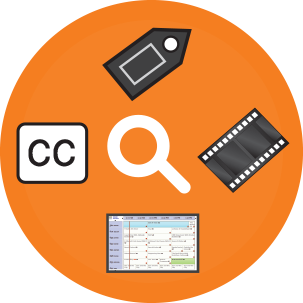 search closed captioning and TV clips