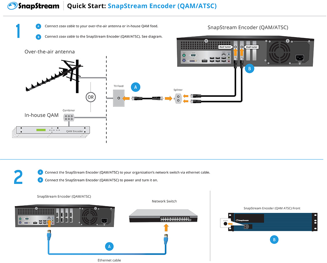 SnapStream Encoder (QAM/ATSC) Quick Start