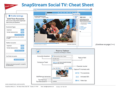 Social cheat sheet