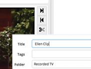 create clip