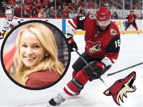 Marissa O'Connor of the Arizona Coyotes