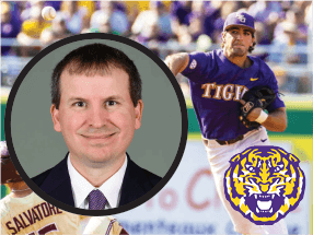 Todd Politz of LSU
