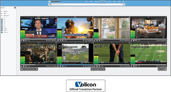 SnapStream multiviewer