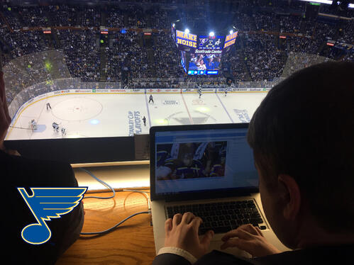 SnapStream and the St. Louis Blues