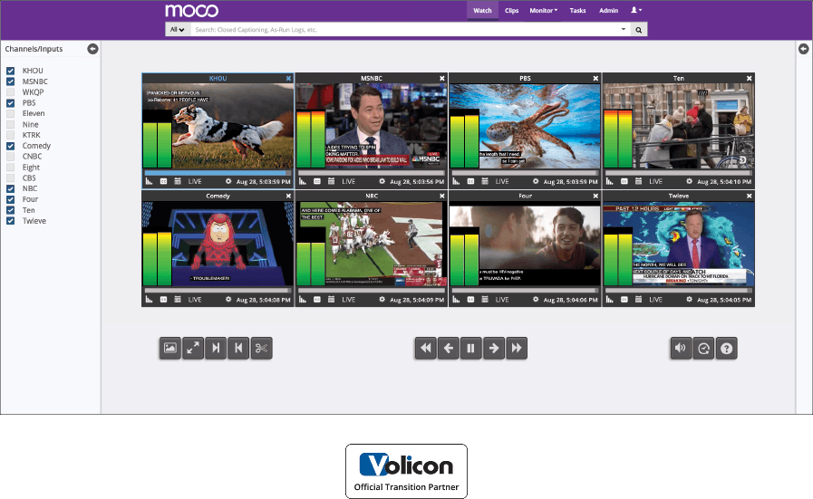 Moco: Compliance Monitoring by SnapStream
