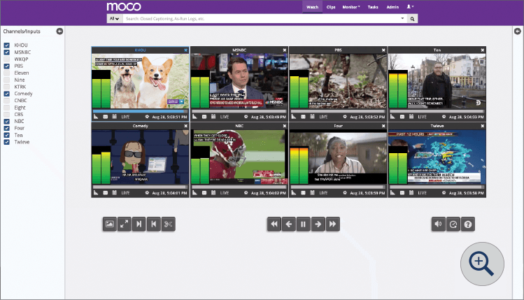 Multiviewer - Moco: Compliance Monitoring by SnapStream