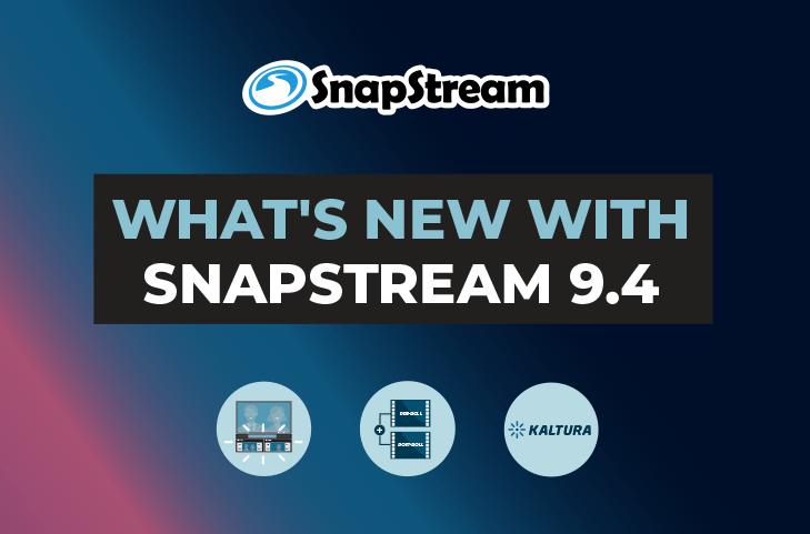 SnapStream 9.4