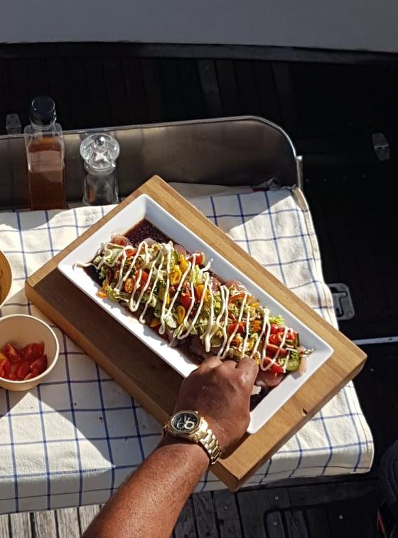 Kingfish Salad