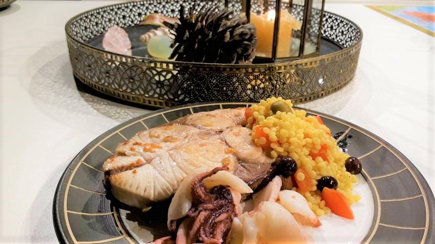 Cooked Kingfish
