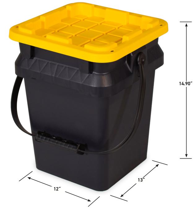 5 Gallon Tough Bucket
